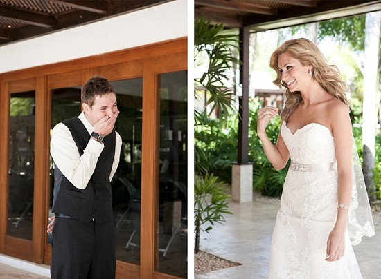 Destination wedding in the Dominican Republic first look