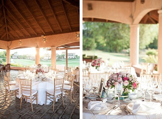 Destination wedding in the Dominican Republic romantic reception venue