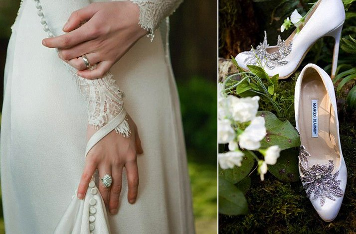 Breaking-dawn-wedding-inspiration-vintage-inspired-bridal-gown-platform-wedding-shoes.full