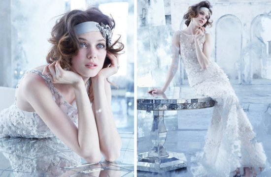Lazaro wedding dresses Fall 2013 Bridal beaded mermaid