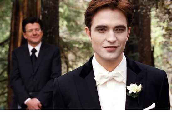 Breaking Dawn Twilight Wedding- handsome vampire groom