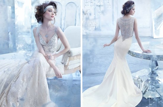 Lazaro wedding dresses Fall 2013 Bridal elegant beading