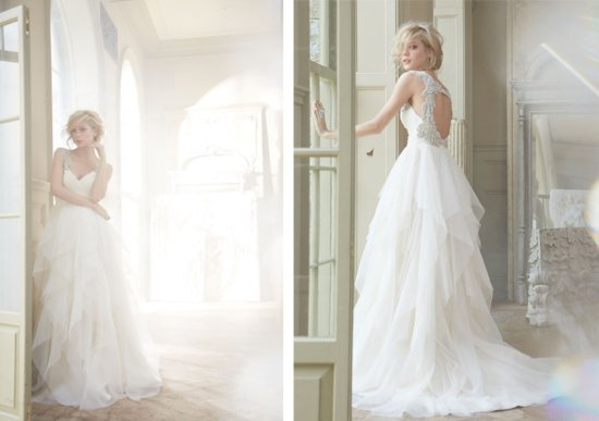 Hayley Paige Bridal Fall 2013 Wedding Dresses 6350 2