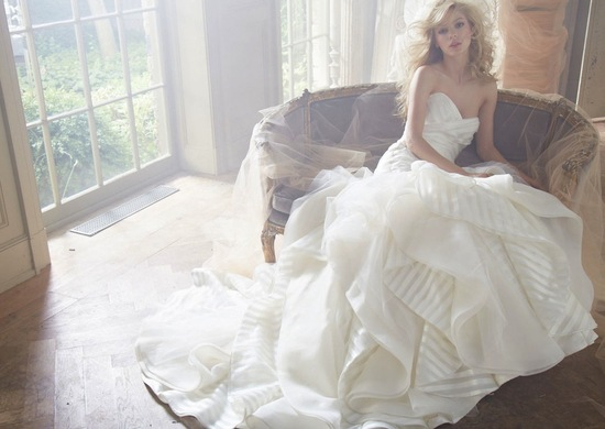 Hayley Paige Bridal Fall 2013 Wedding Dresses 6351