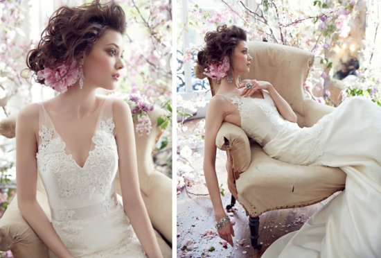 Tara Keeley Wedding Dress Fall 2013 Bridal 1
