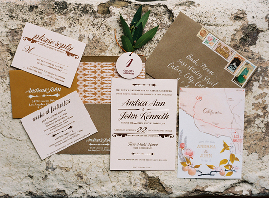 Southern California rustic elegant fall wedding