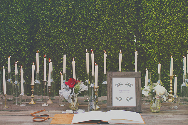 Cacee Cobb + Donald Faison Hitched in LA - Lush Green Backdrop