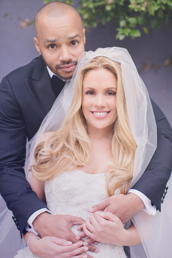 Cacee Cobb + Donald Faison Hitched in LA - The Happy Couple