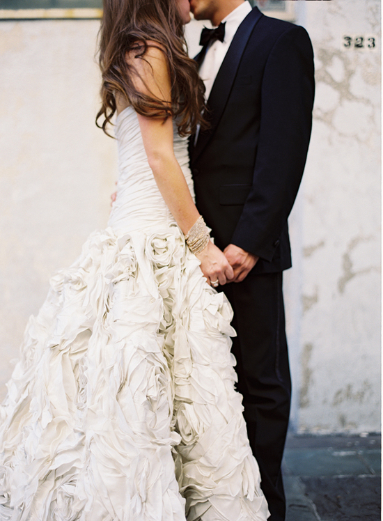 Glamorous New Orleans Wedding - The New Bride and Groom
