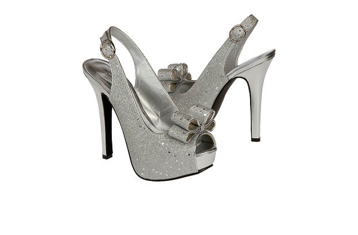 Silver Platform Shoes For Wedding 008 - Silver Platform Shoes For Wedding