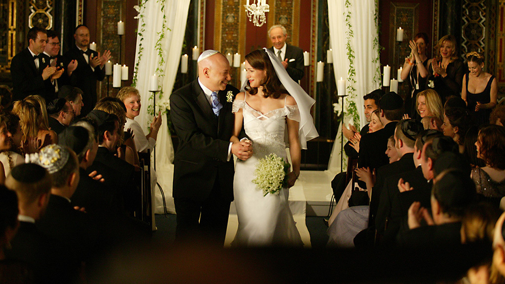 Jewish wedding advice Charlotte and Harry tie the knot on SATC
