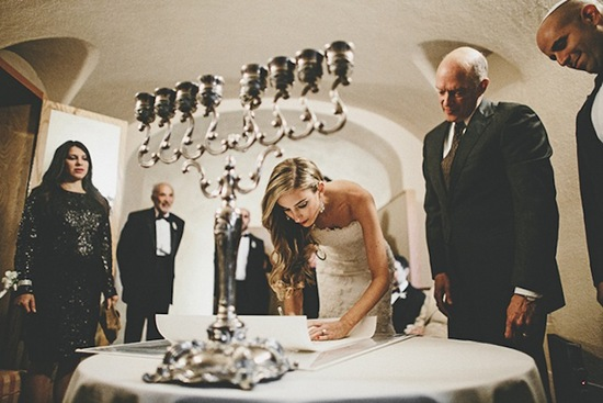 Modern Jewish Wedding On Onewed