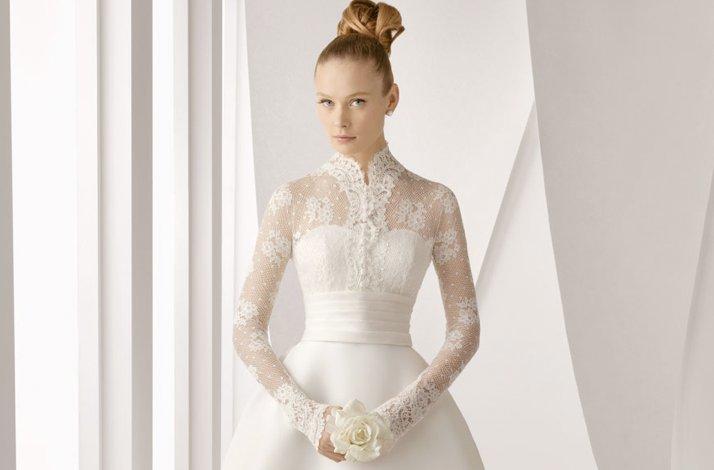 Sleeved-lace-wedding-dress-rosa-clara-bubble-skirt.full
