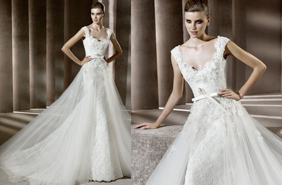elia saab lace wedding dress- Ardelia