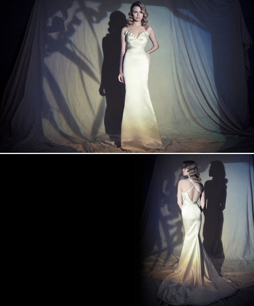 Hila Gaon wedding dress 2012 bridal vintage glam