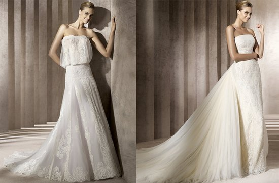 2012 wedding dresses lace manuel mota