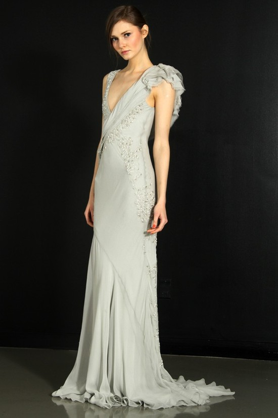photo of J. Mendel wedding dress, Fall 2012- 4