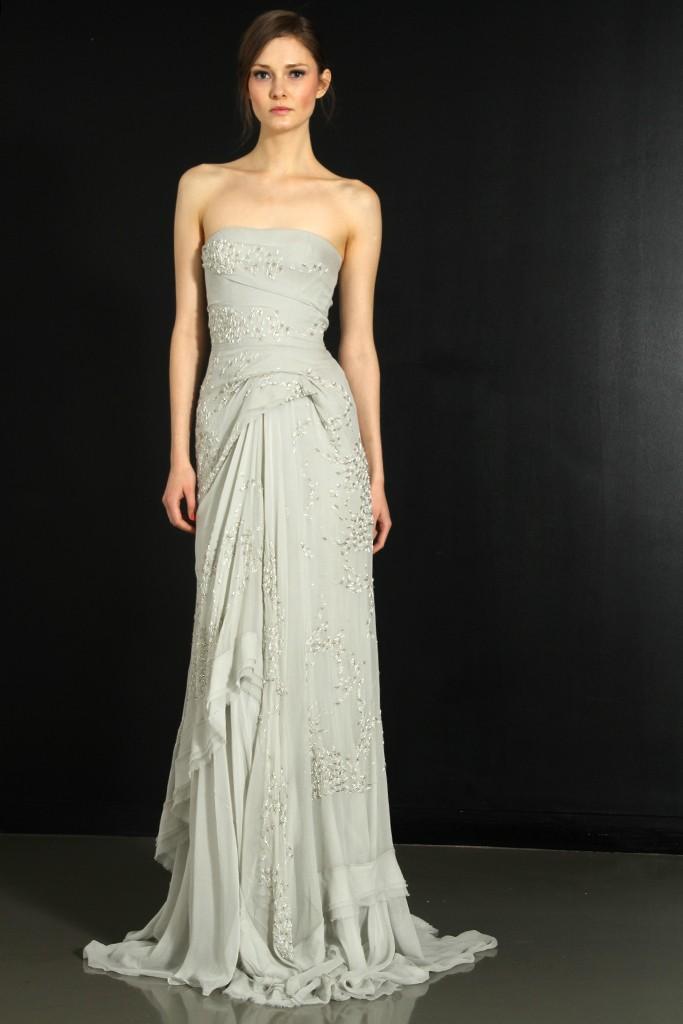 J Mendel 2012 Wedding Dress Fall Bridal Gowns 3 Onewed Com