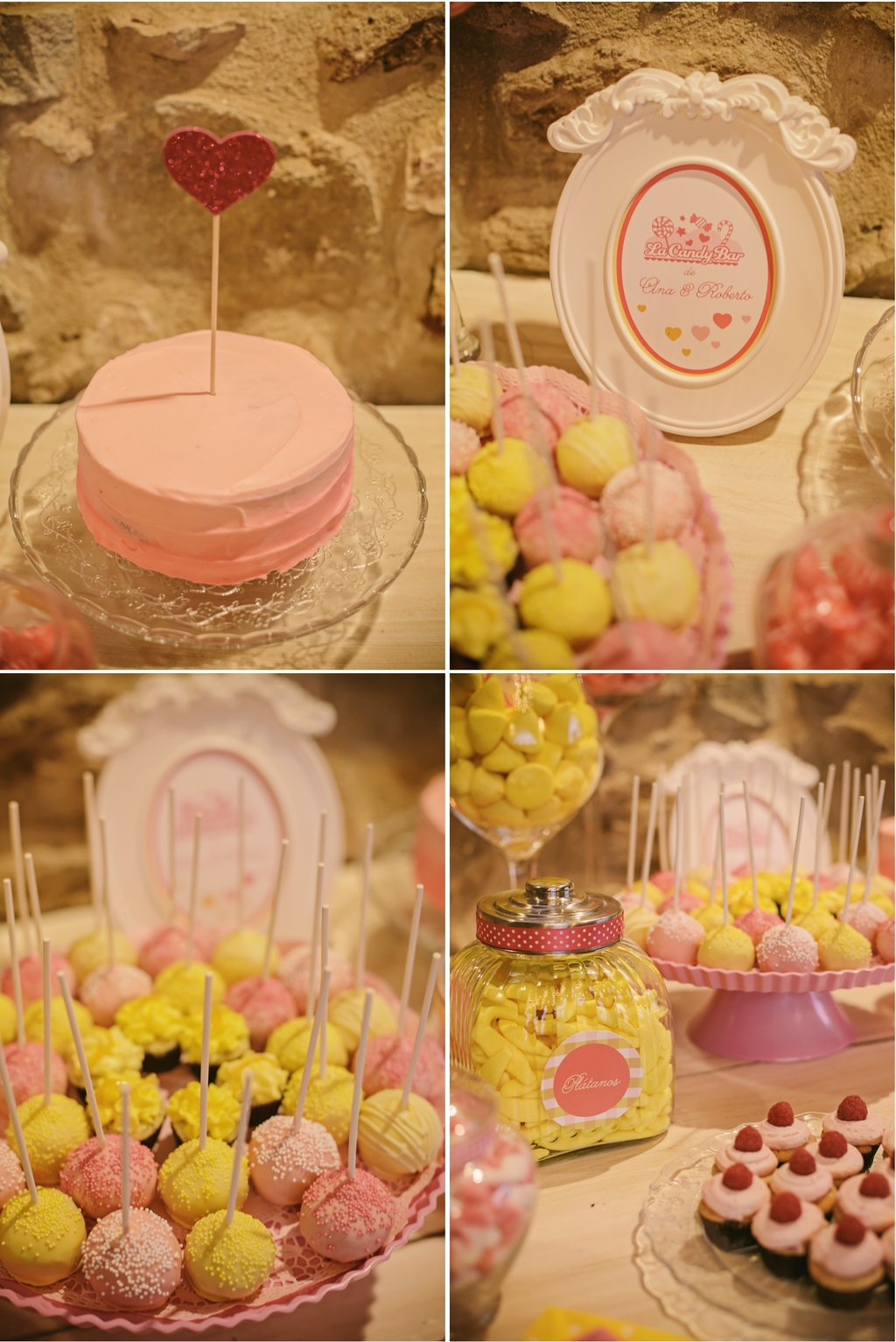 Real-spanish-wedding-otaduy-wedding-dress-outdoor-romantic-reception-treats-cake.full