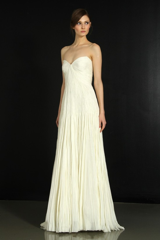 photo of J. Mendel wedding dress, Fall 2012- 7