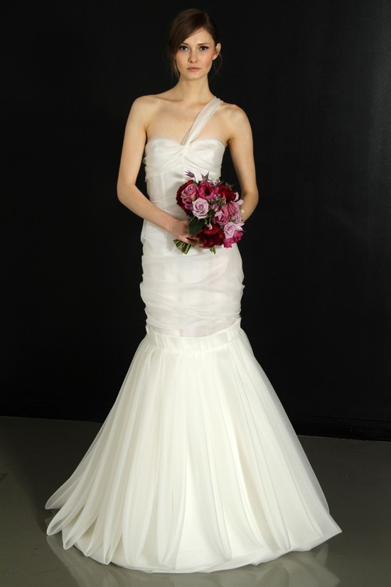photo of J. Mendel wedding dress, Fall 2012- 8