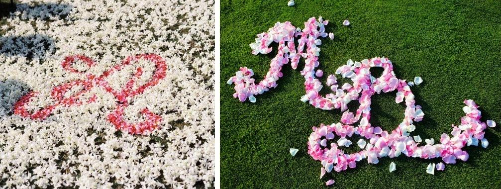 Pink-and-white-wedding-flower-monogram.full