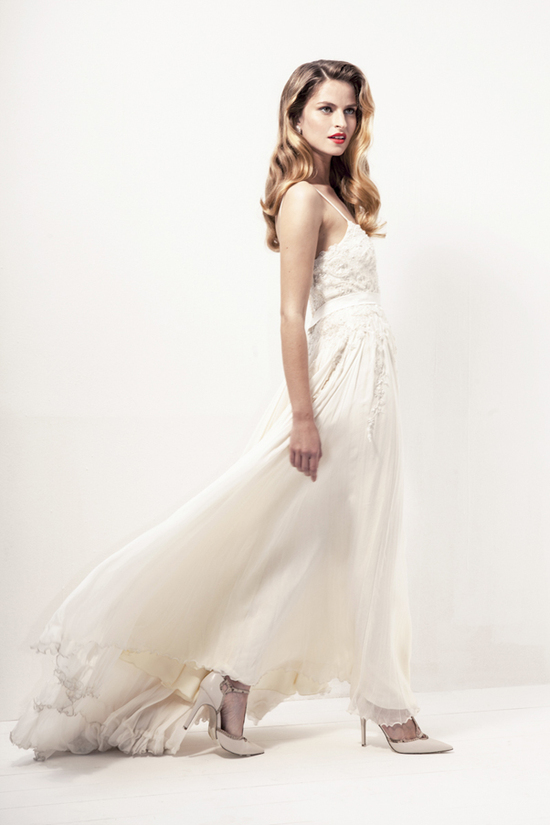 Anya Fleet wedding dress 2013 bridal