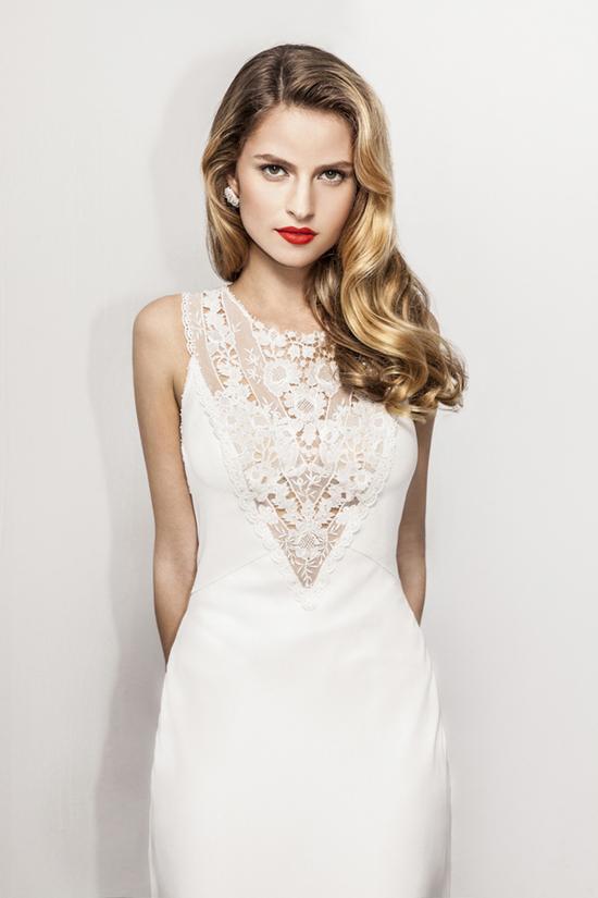 photo of Anya Fleet wedding dress 2013 bridal 10