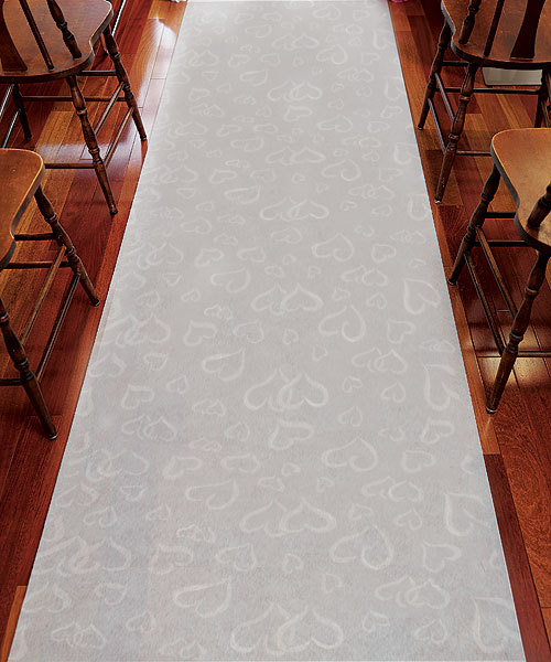 Heart Aisle Runner