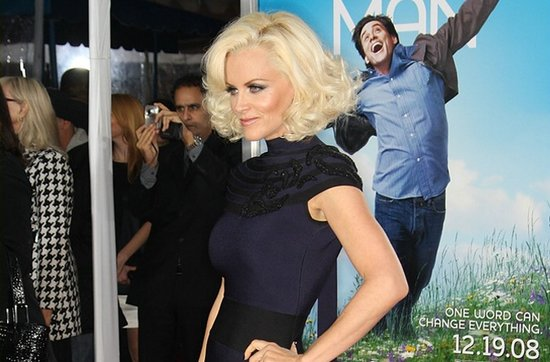 Short wedding hairstyles from the red carpet- Jenny McCarthy
