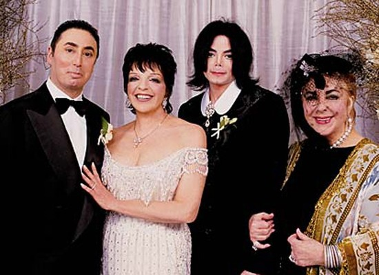 Celebrity brides by style- Liza Minnelli, bizarre bride