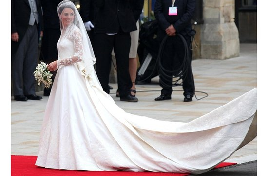 Celebrity brides by style- Kate Middleton, Classic Bride
