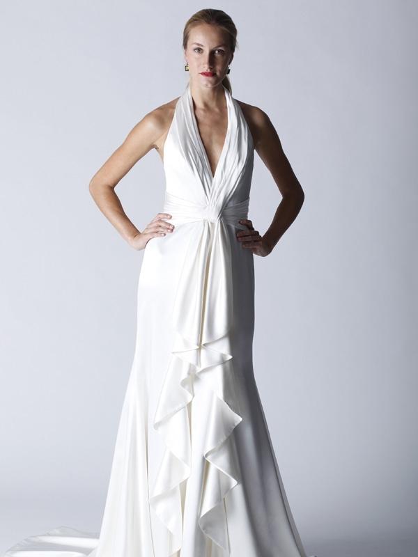 Vintage-glam-wedding-dress-halter-white-bndal-gown.full