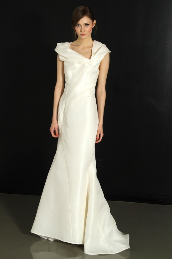 photo of J. Mendel wedding dress, Fall 2012- 6