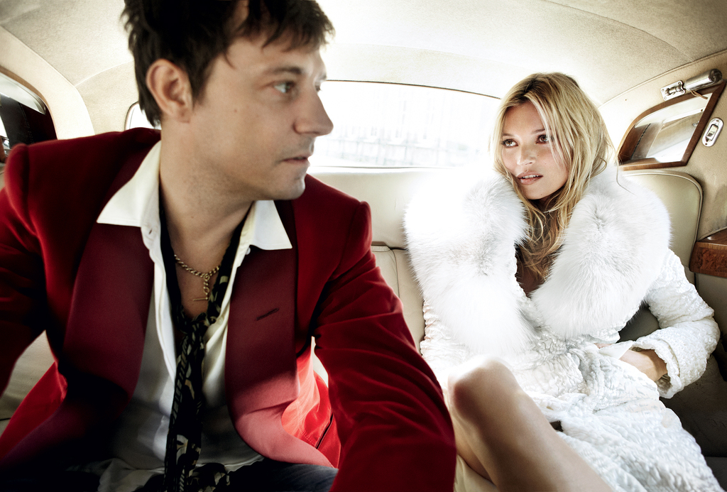 Celebrity brides by style- Kate Moss, rockstar bride