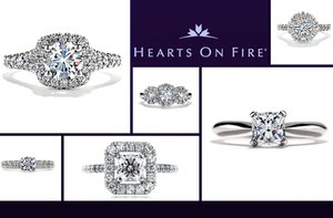 photo of Hearts on Fire diamond engagement rings
