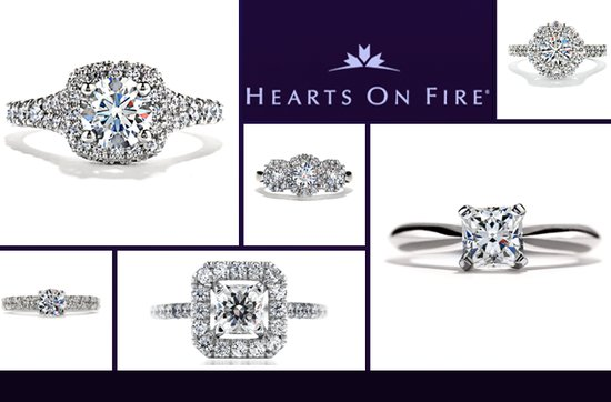 Hearts on Fire diamond engagement rings
