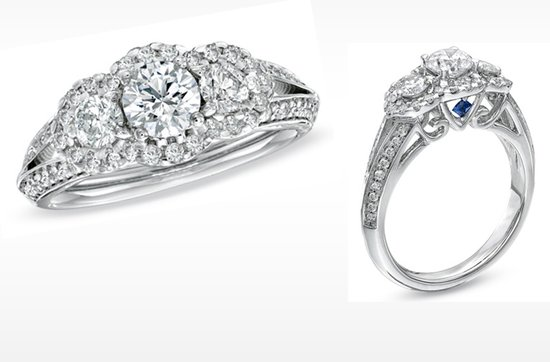 photo of Vera Wang LOVE Engagement Rings