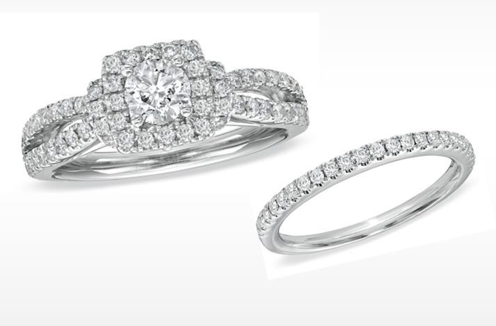 vera wang engagement ring split shank
