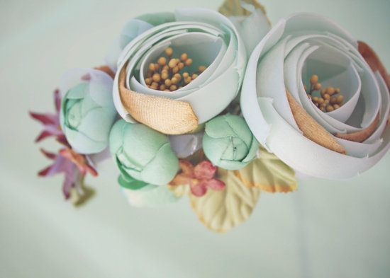 Wedding Flower Alternatives Bridesmaid Headband