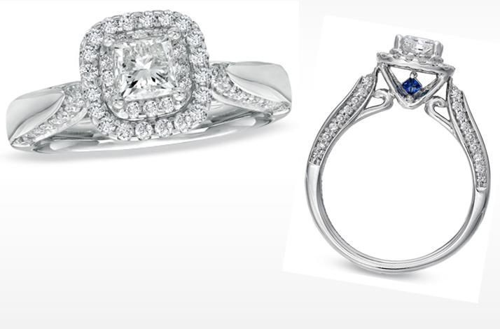 Similiar Vera Wang Princess Cut Engagement Rings Keywords