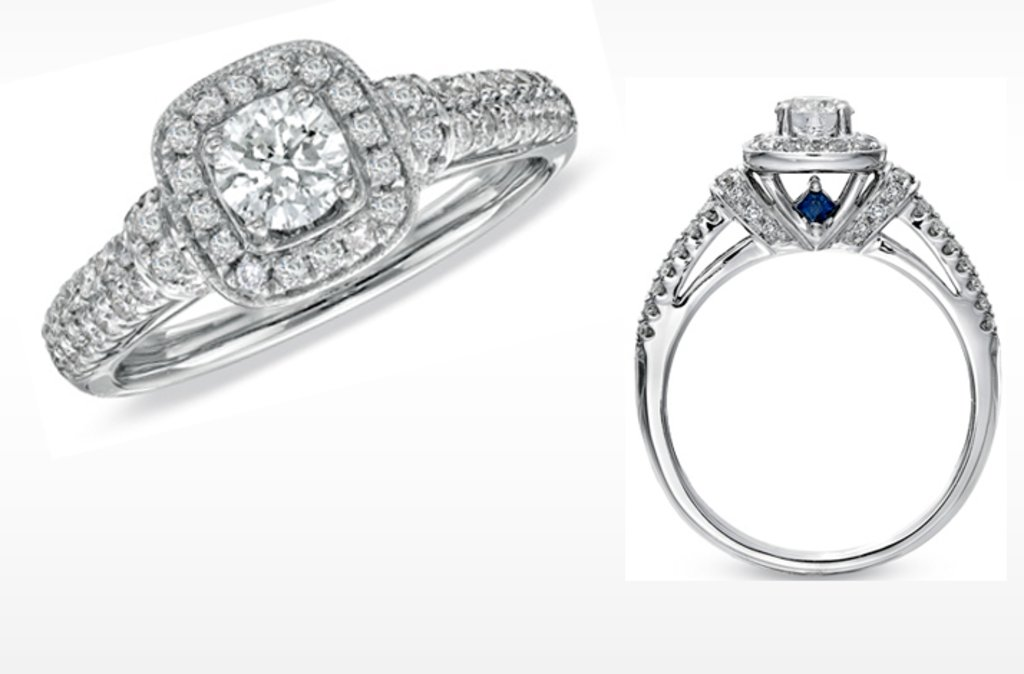 Vera Wang LOVE Engagement Rings\' Ideabook by onewed on OneWed