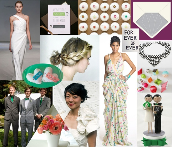 photo of Modern Wedding Inspiration