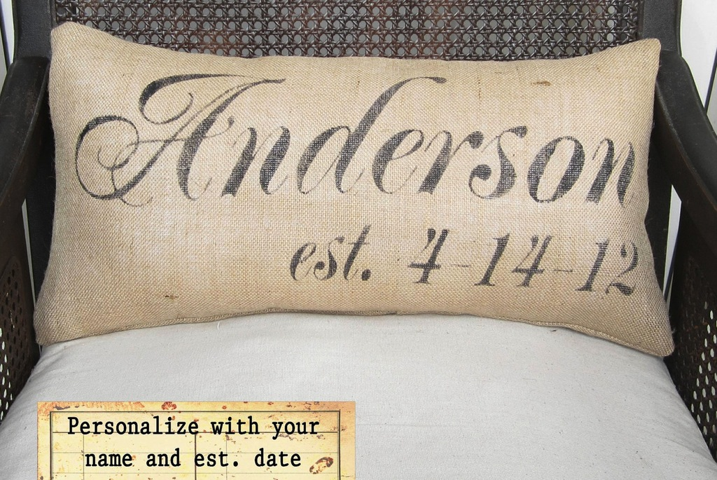 Engraved Wedding Gifts For Bride And Groom: Personalized Gifts For The Bride And Groom Pillows