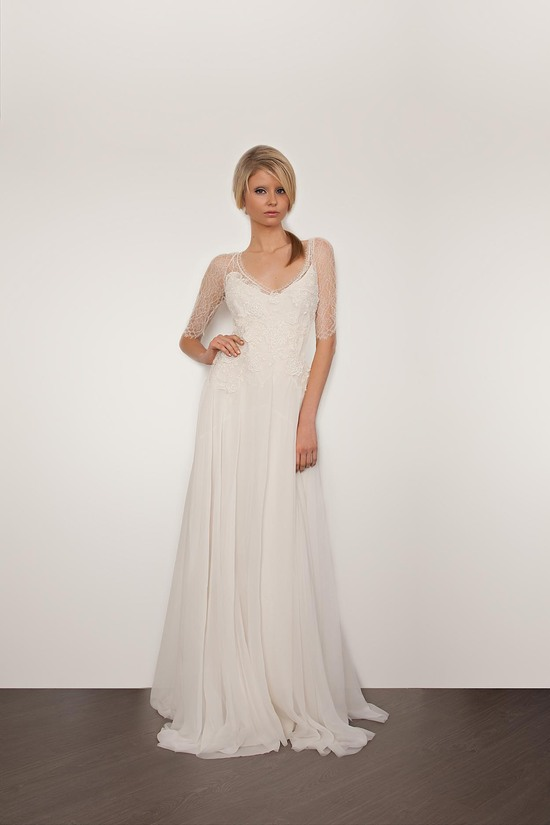 Sarah Janks Wedding Dress 2013 Bridal Carmine