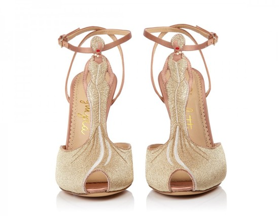 Blush Gold Shoes