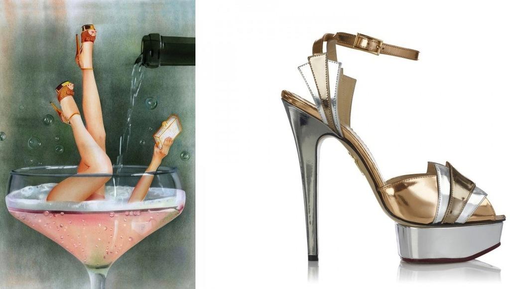 Old-hollywood-glam-wedding-style-metallic-heels.full