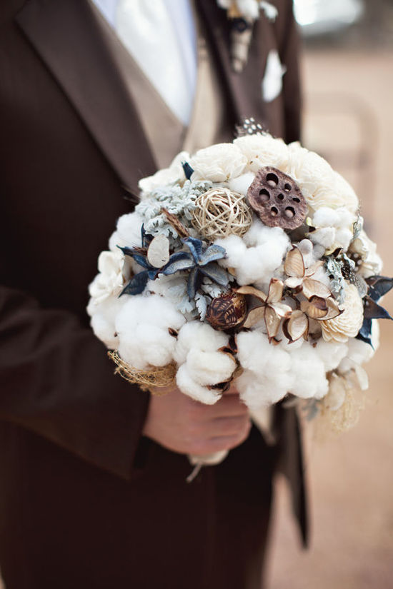 Favorite fall bridal bouquets suggested by Oh Lovely Day- Texas ranch wedding