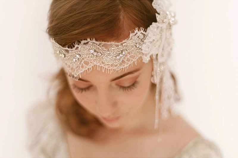 Crystal-adorned-lace-wedding-headpiece.full
