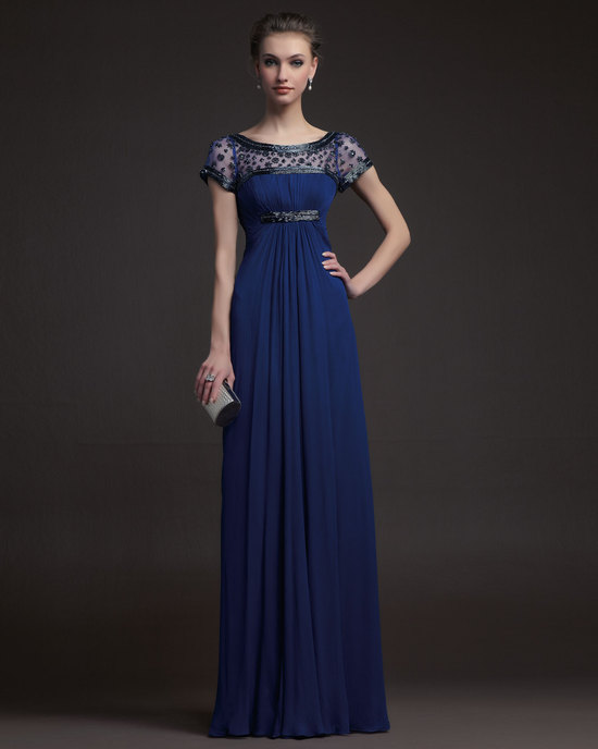 Gorgeous 2014 Bridesmaid Dresses from Aire Barcelona navy beaded